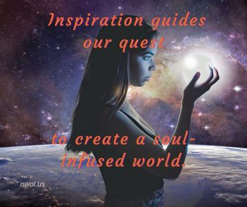 Inspiration guides our quest to create