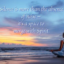 Silence is more than the absence of noise