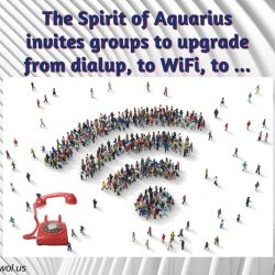 The Spirit of Aquarius invites groups to upgrade