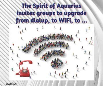 The Spirit of Aquarius invites groups to upgrade