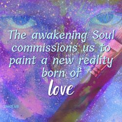 The awakening Soul commissions us