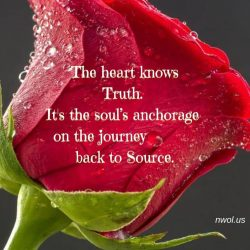 The heart knows Truth