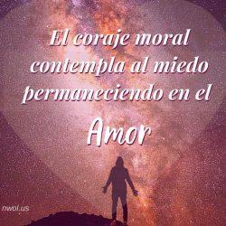 El coraje moral
