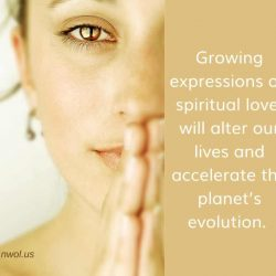 Growing expressions of spiritual love will alter our lives
