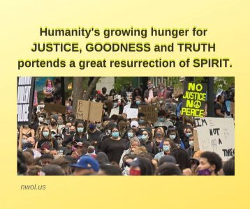 Growing hunger for JUSTICE
