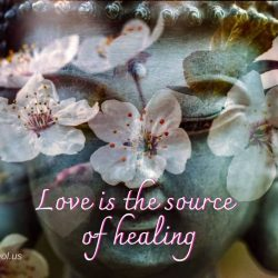 Love is the source of healing