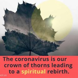 The coronavirus is our crown of thorns