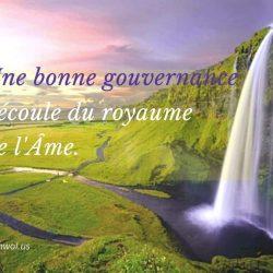 Une bonne gouvernance
