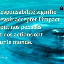 Responsabilite signifie