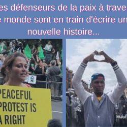 Les defenseurs de la paix a travers
