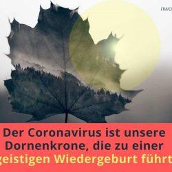 Der Cronavirus ist unsere
