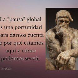 La pausa global