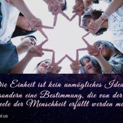 Die Einheit ist kein unmogliches Ideal