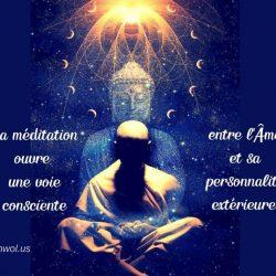 La meditation entre lAme