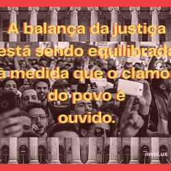 A balanca da justica