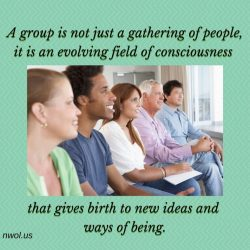 A group is not just a gathering of people