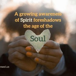 A growing awareness of Spirit