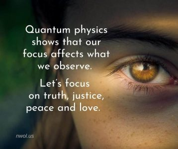 Quantum physics shows that our focus affects what we observe