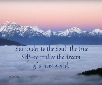 Surrender to the Soul