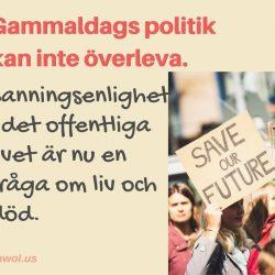 Gammaldags politik