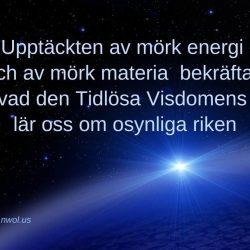 Upptackten av mork energi