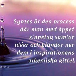 Syntes ar den process