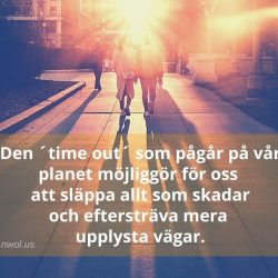 Den time out som pagar pa var