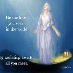 Be the love you seek in the world