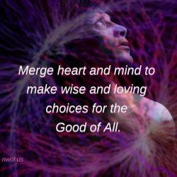 Merge heart and mind