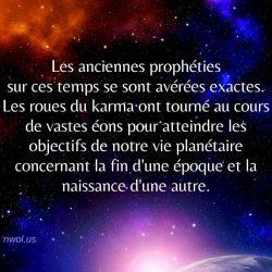 Les anciennes propheties