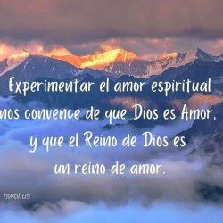 Experimentar el amor espiritual