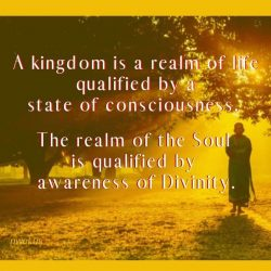 A kingdom is a realm of life