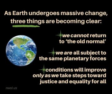 As Earth undergoes massive change