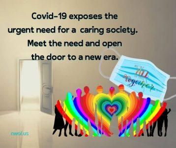 Covid-19 exposes the urgent need for a caring society