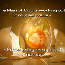 The Plan of God is working out in myriad ways