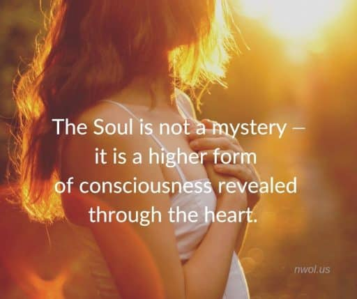 The Soul is not a Mystery — it is a higher form of consciousness revealed through the heart.