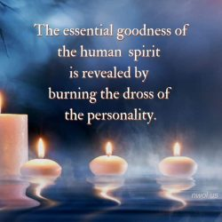 The essential goodness of the human spirit