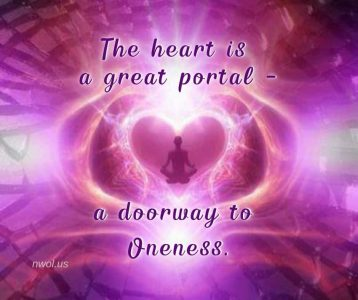 The heart is a great portal