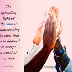 The spreading light of the Soul