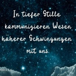 In tiefer Stille