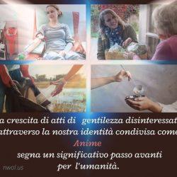 La crescita di atti di gentilezza disinteressata