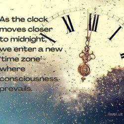 As the clock moves closer to midnight