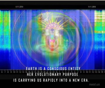 Earth is a conscious entity