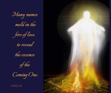 Many names meld in the fire of love
