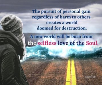 The pursuit of personal gain regardless of harm to others