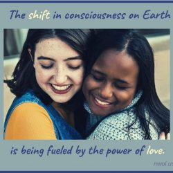The shift of consciousness on Earth