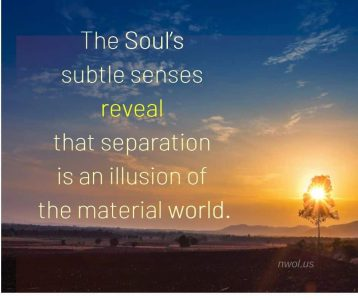 The subtle senses of the Soul