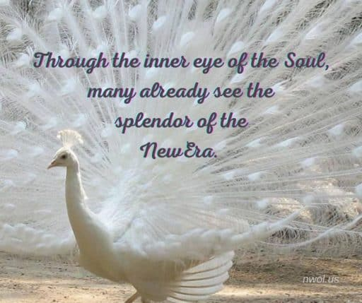 Through the inner eye of the Soul, many already see the splendor of the New Era.