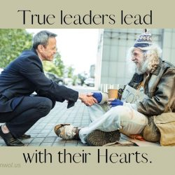 True leaders lead with their Hearts