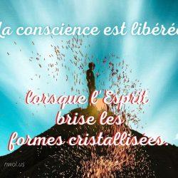 La conscience est liberee